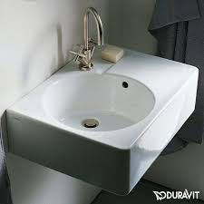 scola wall hung basin by duravit