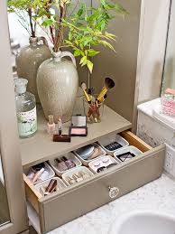 bathroom makeup organizer ideas cosmetic storage
