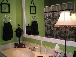 Green Bathroom Designs My Lime Green Bathroom With Black White And Red Accents I Switch