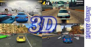 game balap mobil 3d offline terbaik ukuran kecil