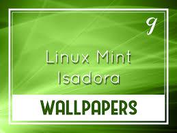 linux mint 9 isadora default wallpapers
