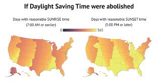 Oklahoma Sunset Chart Heres How Daylight Saving Time Affects Your Part Of The