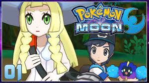 Pokemon Moon Part 1 - Welcome to ALOLA! Gameplay Walkthrough ( Pokemon Sun  Moon ) - YouTube