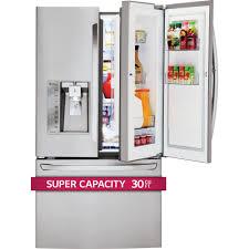 Largest Capacity Refrigerator Lfxs30766slg Appliances 36 296 Cu Ft French Door