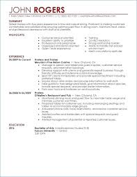 Sample Resume For Restaurant Jobs Resume For Fast Food Manager Ceciliaekici Com