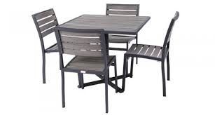 Commercial outdoor dining furniture Brushed Aluminum Mason Commercial Outdoor Top Dining Set Commercial Outdoor Chairs Amusing Restaurant Patio Furniture Patio Furniture Patio Amusing Restaurant Patio Furniture Magnificent Restaurant