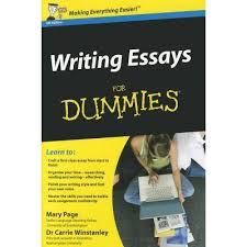 writing essays for dummies by mary page