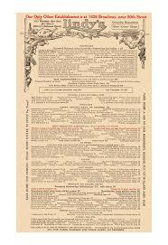 65 best images about Vintage menus on Pinterest