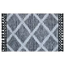 black and white bathroom rug black white bathroom rug sets strikingly and bath bed beyond rugs black and white bathroom rug