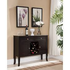 buffet with wine rack. Delighful With Copper Grove Sonfjallet ConsoleBuffet Wine Rack Black Cherry Inside Buffet With Rack V