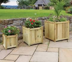 large size of decoration large wooden garden troughs white wooden plant pots extra large wooden garden