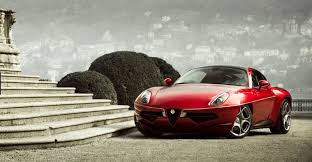 alfa romeo 8c disco volante.  Volante Based On The Alfa Romeo 8C Competizione Disco Volante By  Carrozzeria Touring Is A Twoseater Gran Turismo Coup Itself Inspired Original  On 8c O