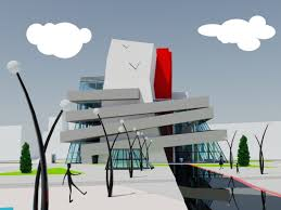 bim что под этим обычно понимают Рис 6 Елена Коваленко Проект Центра современного искусства Дипломная работа Модель выполнена в revit architecture НГАСУ Сибстрин 2009