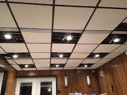 How To Put In Recessed Lighting Diy Recessed Lighting Installation In A Drop Ceiling