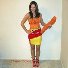 how to make a bag of cheetos costume diy