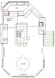 Kitchen Floor Plan Design And Kitchen Design Accompanied By Amazing Views  Of Your Home Kitchen And