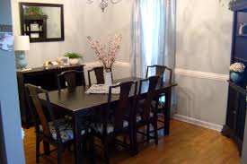 wicker furniture decorating ideas. Wicker Chairs Two Table Lamp Tall Crystal Vase Wall Mirror Door Glass Purple Fabric Cloth Dining Room Centerpieces Ideas Furniture Decorating
