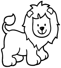 Small Picture Coloring Pages Printable Lion Coloring Pages