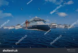 Caribbean Seaatlantic Ocean 06252019 Aerial Photo Stock Photo (Edit Now)  1457406902