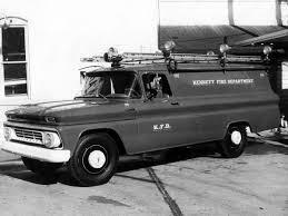 1962 Chevrolet C30 Panel Firetruck (C3605)