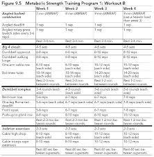 Weight Lifting Templates Gym Program Template