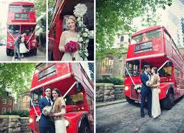 routemaster bus weddings creative london wedding photographer Wedding Hire London Bus bride and groom posing inside and in front of a routemaster london bus after the wedding wedding hire london bus