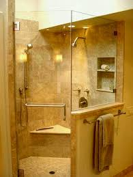 corner shower stalls. Corner Shower Stall Kits With Seat And Wall Mounted Head Also Towel Holder For Wonderful Bathroom Stalls R