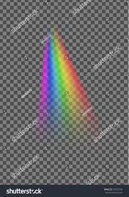 Who Owns Rainbow Light Rainbow Light Ray Isolated On Transparent Stock Vector