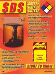 Sds Quick Reference Chart Poster