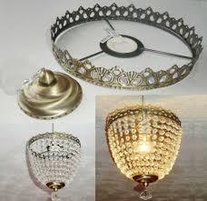 home design make your own pendant light best of deep bag chandelier metal frame no