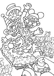 Carnavalssite Carnaval Kleurplaat Printen