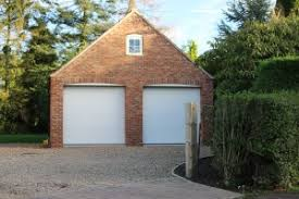 garage with office above. double garage with office above constructed in york hand made bricks n