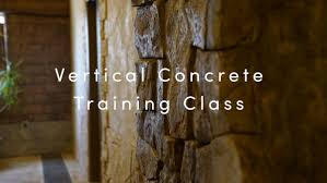 learn the many and diverse uses of moon decorative s vertical concrete mix in this 2 day vertical concrete training class you can make walls boulders
