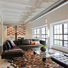 contemporary loft furniture. Iconic Classic Furniture Juxtaposes The Industrial Feel Of This Washington, DC Loft, Contemporary Loft