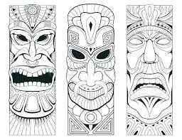 Mask Templates For Adults Delectable Mask Coloring Pages Images Of Template Download Tiki Disney Cars D