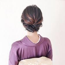Moriyama Mamiさんのヘアスタイル 振袖を訪問着へステキな