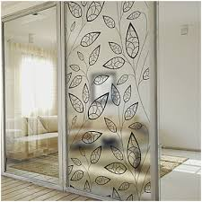 decorative shower door decals new 60 58cm frosted opaque glass window colorful flower of decorative shower