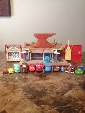 Disney Cars Fan Stand Display Case Disney Pixar Cars 100 Fan Stands Play N Display Case eBay 45