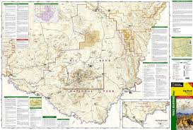 big bend national park (national geographic trails illustrated map