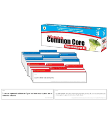 The Complete Common Core State Standards Kit Pocket Chart Cards Grade 3