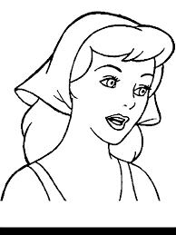 Small Picture Princess Cinderella Coloring Pages Coloring Home
