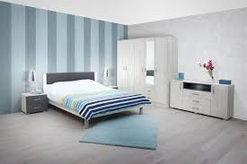 Schlafzimmer Komplett Set C Sidonia 7 Teilig Farbe Eiche Weiß