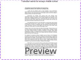 transition words for essays middle school college paper writing  transition words for essays middle school have your students revise sentences and correct transition word