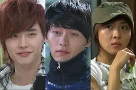 lee jong suk and hyun bin and ha ji won