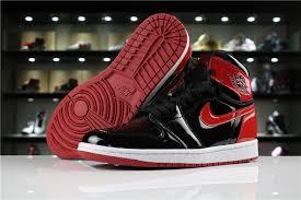 2018 air jordan 1 patent leather banned black varsity red white