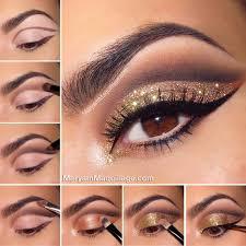 disco ball glitter makeup