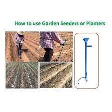 new precision garden seeder model ut001