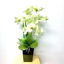 planting fake flowers outside to enlarge outdoor artificial flower arrangements white patio for