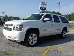 2010 White Diamond Tricoat Chevrolet Suburban Diamond Edition ...