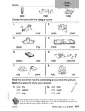 These worksheets help kids learn to use letters to make sounds and words. Ai And Ay Words Lesson Plans Worksheets Reviewed By Teachers
